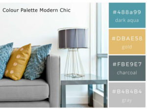 Modern Cool Colour Palette For Freelance Graphic Designer Brisbane